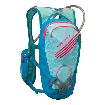 Nathan Moxy 2L Hydration Pack Race Vest - 67 fl.oz. (For Women) in Blue Light/Danube - Closeouts