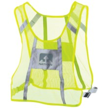 Nathan Nightfall Reflective Visibility Vest in Neon Yellow - Closeouts
