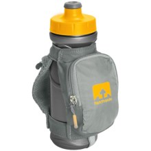 Nathan QuickDraw Plus Handheld Water Bottle - 22 fl.oz. in Nathan Grey - Closeouts