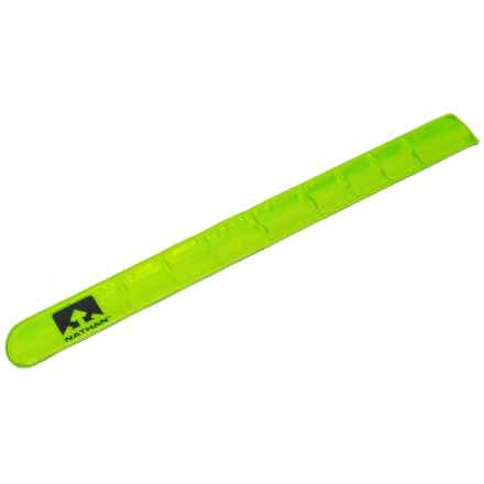 Nathan Reflective Snap Band in Light Green - Closeouts