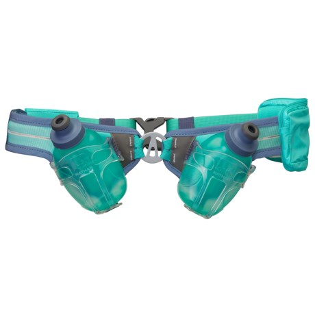 Nathan Speed Demon Double Hydration Belt with Water Bottles