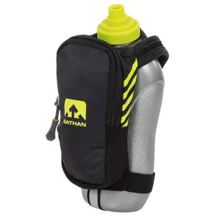 Nathan SpeedDraw Plus Water Bottle - 18 fl.oz. in Black - Closeouts