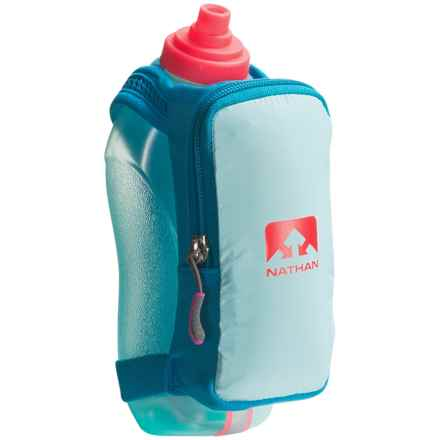 Nathan SpeedDraw Plus Water Bottle - 18 fl.oz. in Blue Danube - Closeouts
