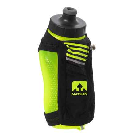 Nathan Speedmax Plus Flask -22 oz. in Black/Safety Yellow - Closeouts