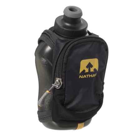 Nathan Speedshot Plus Handheld Flask -12 oz. in Black - Closeouts