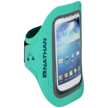 Nathan Supersonic 3 Phone Armband - iPhone® 5/6, Samsung® Galaxy S3/S4 in Cockatoo - Closeouts