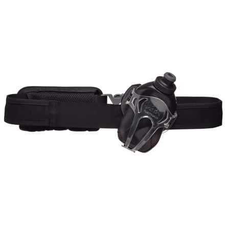 Nathan Switchblade Hydration Belt with Water Bottle - 12 fl.oz. in Black - Closeouts
