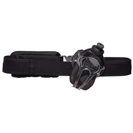 Nathan Switchblade Hydration Belt with Water Bottle - 12 fl.oz. in Black