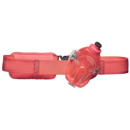 Nathan Switchblade Hydration Belt with Water Bottle - 12 fl.oz. in Fusion Coral - Closeouts