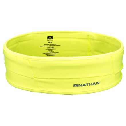 Nathan The Hipster Waistbelt in Safety Yellow - Closeouts