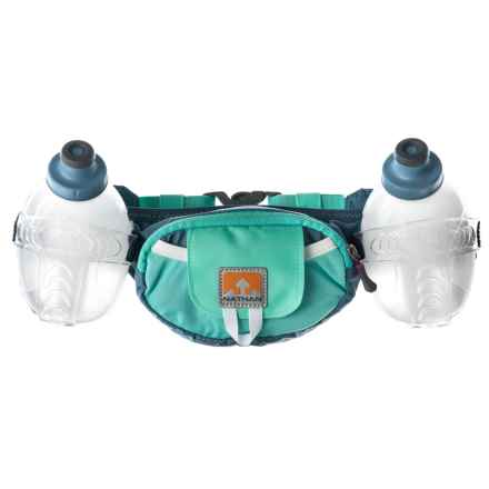 Nathan Trail Mix Plus Hydration Belt with Water Bottles in Methyl Blue - Closeouts