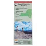 National Book Network Appalachian Mountain Club Catskill Mountains Trail Map - 2nd Edition, Topographical