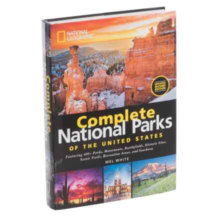 National Geographic Complete National Parks of the United States Book - Second Edition in See Photo - Closeouts