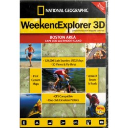 National Geographic Weekend Explorer 3D Mapping Software in Salt Lake City Area