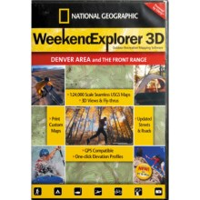 National Geographic Weekend Explorer 3D Mapping Software in Denver Area/Front Range - Closeouts