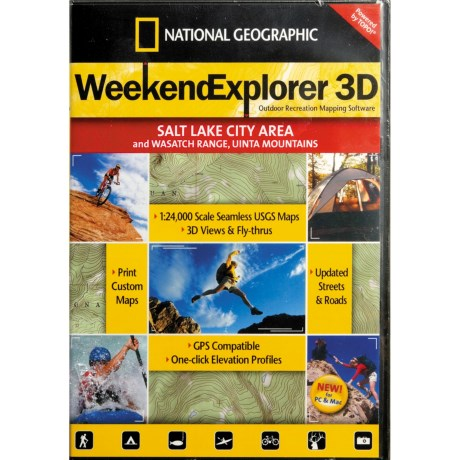 National Geographic Weekend Explorer 3D Mapping Software