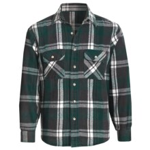 National Outfitters Brawny Shirt - Long Sleeve (For Men) in Green - 2nds