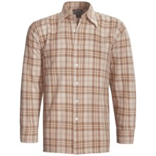 National Outfitters Cotton Flannel Shirt - Long Sleeve (For Men) in Tan - 2nds