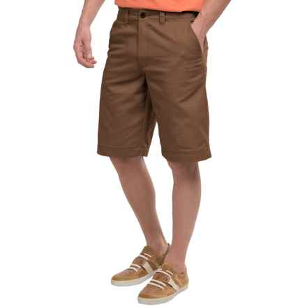 National Outfitters Flat-Front Shorts (For Men) in Brown - Closeouts
