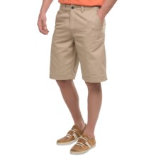 National Outfitters Flat-Front Shorts (For Men) in Khaki - Closeouts