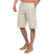 National Outfitters Flat-Front Shorts (For Men) in Natural - Closeouts