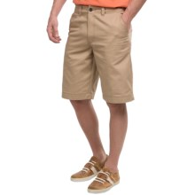 National Outfitters Flat-Front Shorts (For Men) in Tan - Closeouts