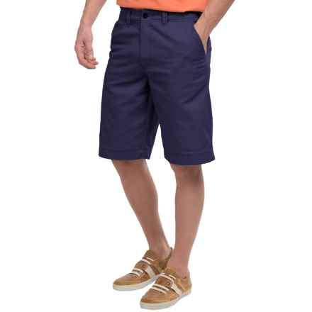 National Outfitters Flat-Front Shorts (For Men) in Vintage Navy - Closeouts