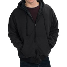 National Outfitters Quilt-Lined Hoodie - Insulated (For Men) in Black - 2nds