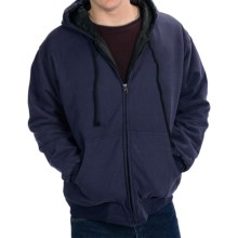 National Outfitters Quilt-Lined Hoodie - Insulated (For Men) in Navy - 2nds