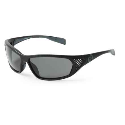 Native Eyewear Andes Sunglasses - Polarized in Matte Black/Gray - Closeouts
