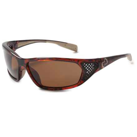Native Eyewear Andes Sunglasses - Polarized, Interchangeable Lenses in Maple Tortoise/Brown - Closeouts
