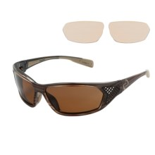 Native Eyewear Andes Sunglasses - Polarized, Interchangeable Lenses in Wood/Brown - Closeouts