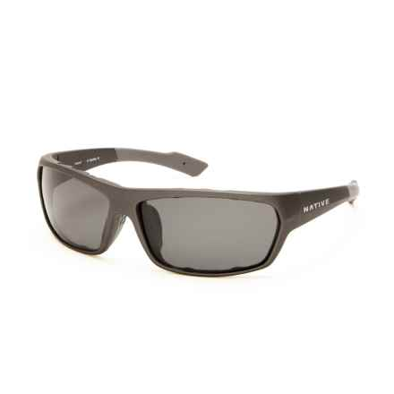 Native Eyewear Apex Sunglasses - Polarized in Charcoal/Gray - Closeouts