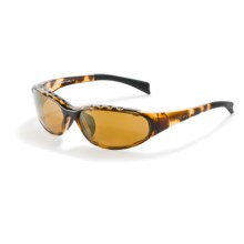Native Eyewear Attack Sport Sunglasses - Polarized in Tobacco/Bronze Reflex - Closeouts