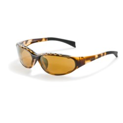Native Eyewear Attack Sport Sunglasses - Polarized in Tobacco/Bronze Reflex