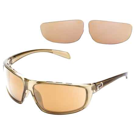 Native Eyewear Bigfork Sunglasses - Polarized, Extra Lenses in Moss/Bronze Reflex - Overstock