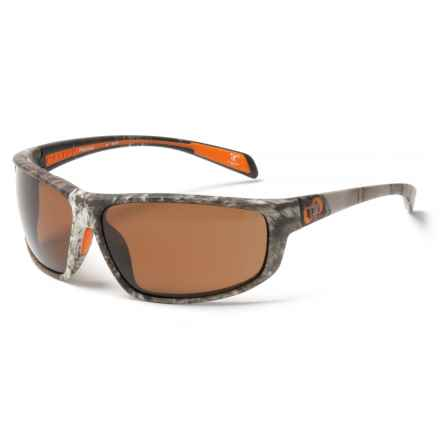 Native Eyewear Bigfork Sunglasses - Polarized, EXTRA LENSES in True Timber/Brown - Closeouts