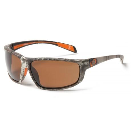 Native Eyewear Bigfork Sunglasses - Polarized, EXTRA LENSES in True Timber/Brown