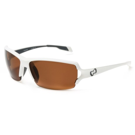 Native Eyewear Blanca Sunglasses - Polarized in Snow/Brown