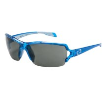 Native Eyewear Blanca Sunglasses - Polarized in Translucent Blue/Grey - Closeouts