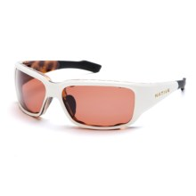 Native Eyewear Bolder Sunglasses - Polarized, Interchangeable in Sahara Snow/Copper - Closeouts