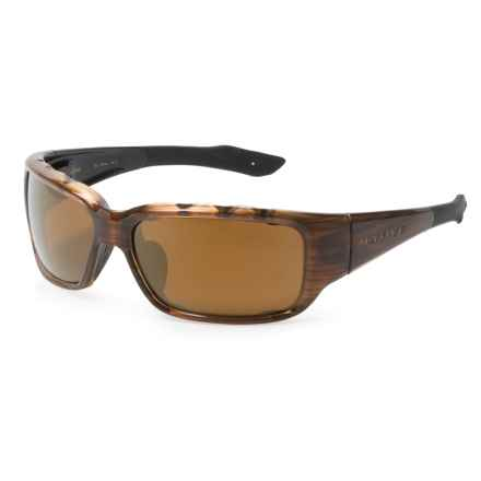 Native Eyewear Bolder Sunglasses - Polarized Reflex Lenses in Wood/Bronze Reflex - Closeouts