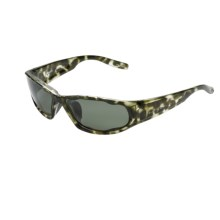 Native Eyewear Bolt Sunglasses - Polarized in Jungle/Green - Closeouts