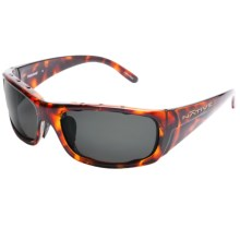 Native Eyewear Bomber Sunglasses - Polarized in Maple Tortoise/Grey - Closeouts