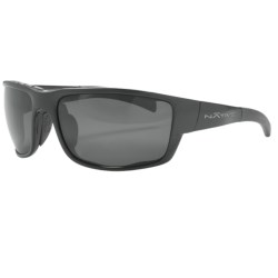 Native Eyewear Cable Sunglasses - Polarized Reflex Lenses, Interchangeable in Gunmetal/Silver Reflex