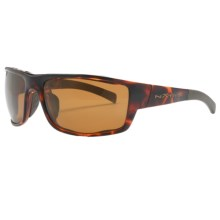 Native Eyewear Cable Sunglasses - Polarized Reflex Lenses, Interchangeable in Maple Tortoise/Bronze Reflex - Closeouts