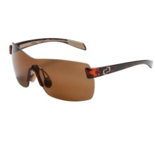 Native Eyewear Camas Sunglasses - Polarized N3 Lenses (For Women) in Maple Tortoise/Brown - Closeouts