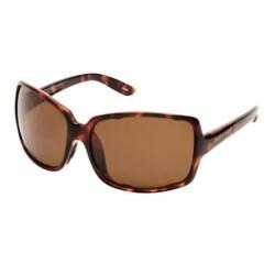 Native Eyewear Clara Sunglasses - Polarized, Interchangeable (For Women) in Maple Tortoise/Brown