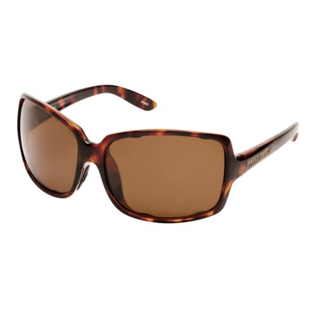 Native Eyewear Clara Sunglasses - Polarized, Interchangeable (For Women) in Maple Tortoise/Brown