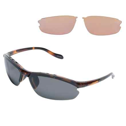 Native Eyewear Dash XP Sunglasses - Polarized, Extra Lenses in Maple Tortoise/Gray - Overstock